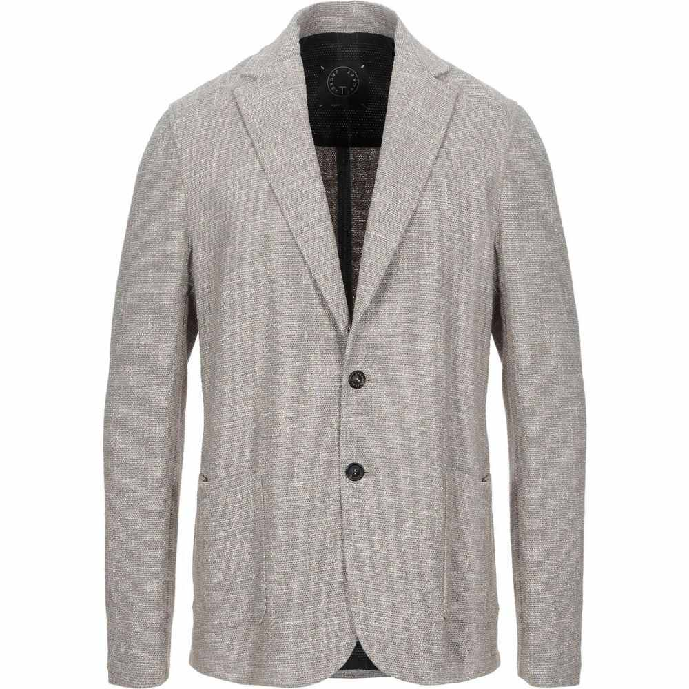 TONELLO アウター【blazer】Beige T-JACKET メンズ トネッロ スーツ・ジャケット by