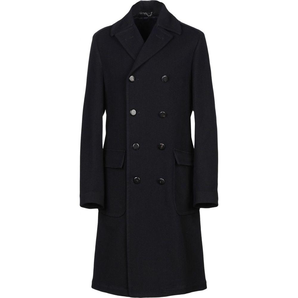 ドッピア アー DOPPIAA メンズ コート アウター【full-length jacket】Dark blue