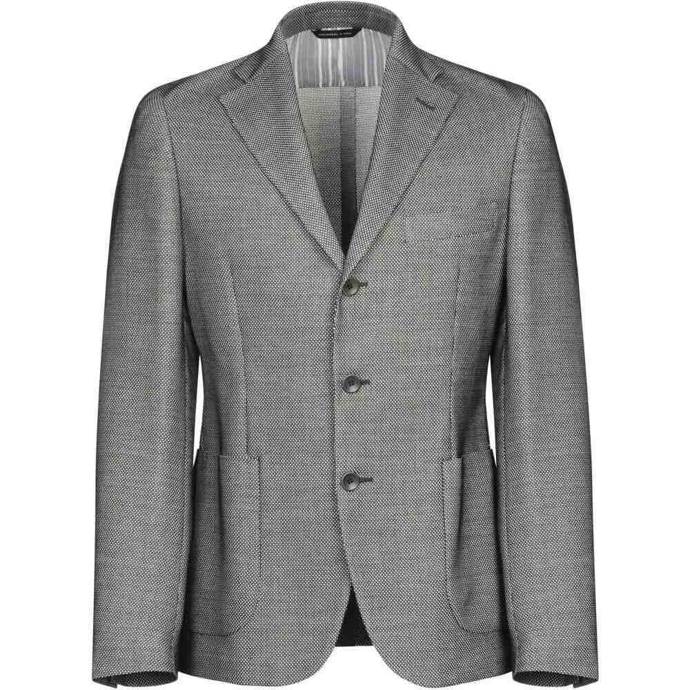 メンズ アウター【blazer】Black スーツ・ジャケット トネッロ TONELLO