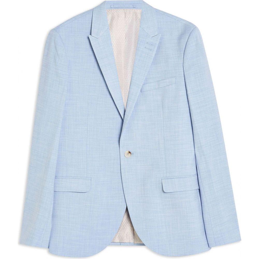<title>トップマン メンズ アウター スーツ ジャケット Sky blue 正規品スーパーSALE×店内全品キャンペーン サイズ交換無料 TOPMAN skinny blazer</title>