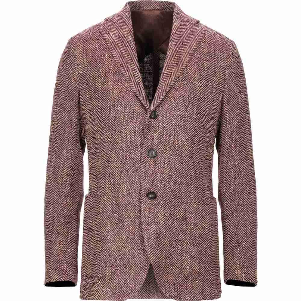 ドッピア アー DOPPIAA メンズ スーツ・ジャケット アウター【blazer】Deep purple