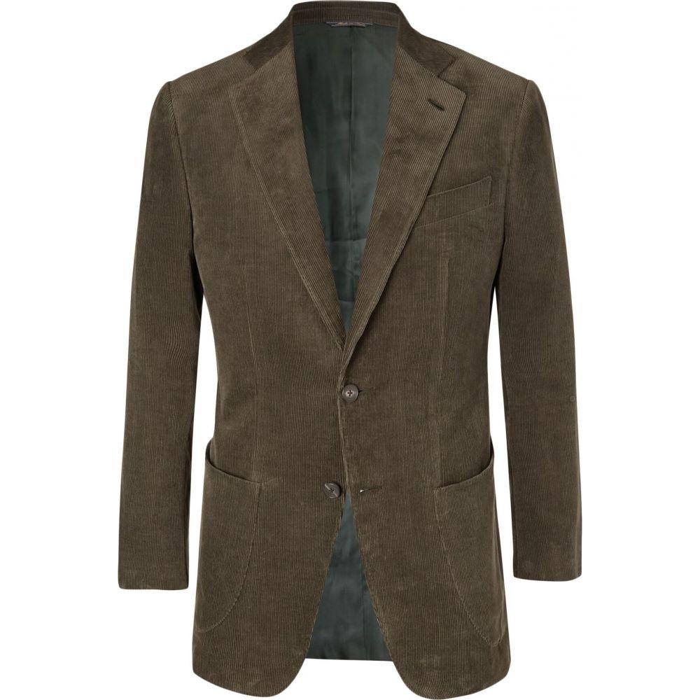 トム スウィーニー THOM SWEENEY メンズ スーツ・ジャケット アウター【blazer】Military green