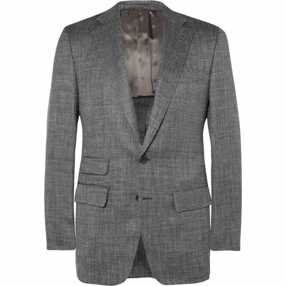 トム スウィーニー THOM SWEENEY メンズ スーツ・ジャケット アウター【blazer】Steel grey