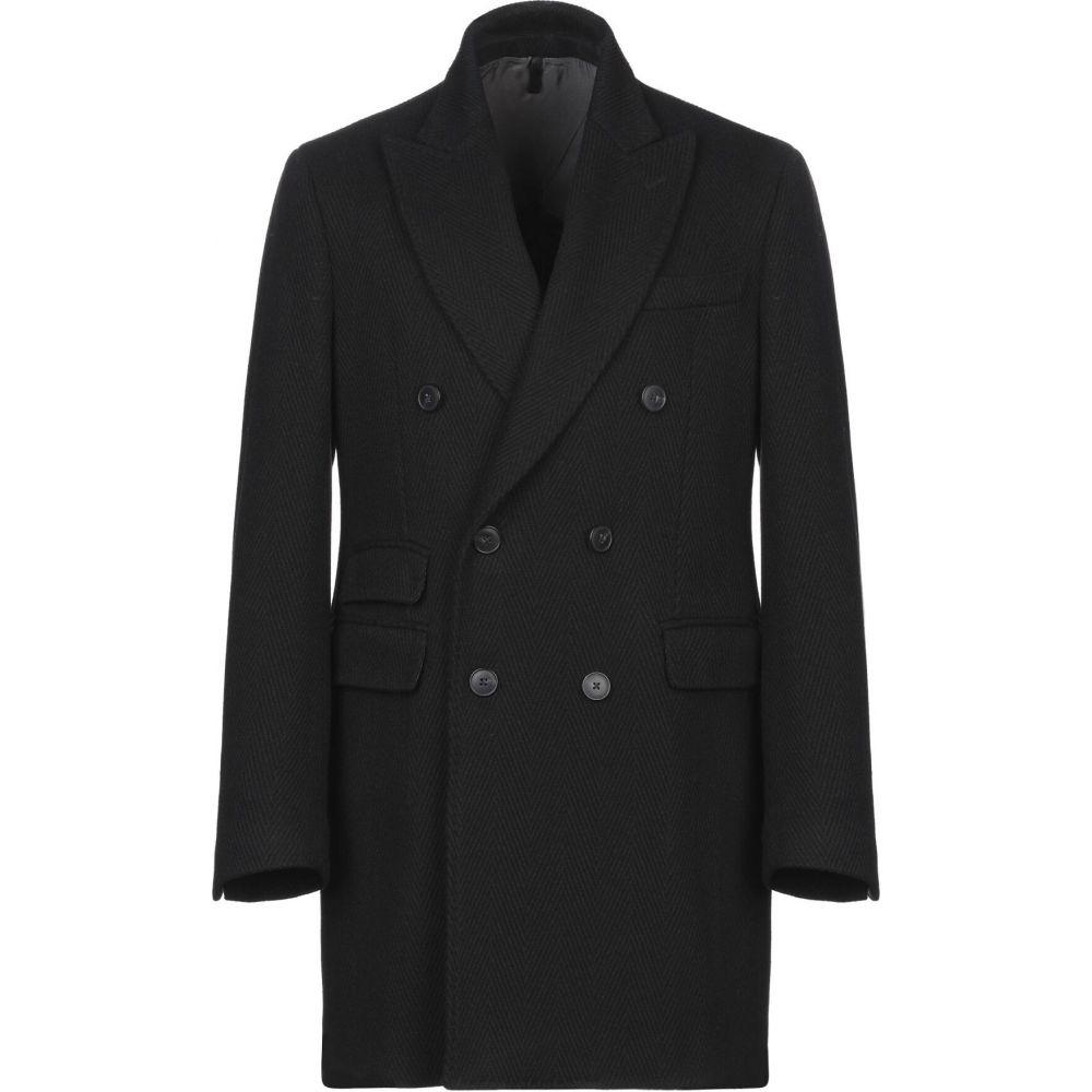 ドメニコ タリエンテ DOMENICO TAGLIENTE メンズ コート アウター【coat】Black