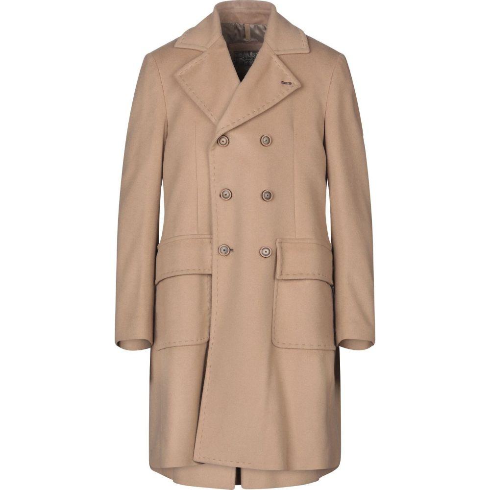 ドメニコ タリエンテ DOMENICO TAGLIENTE メンズ コート アウター【coat】Camel