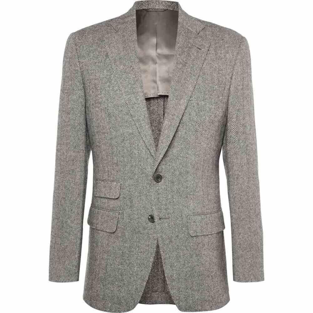 トム スウィーニー THOM SWEENEY メンズ スーツ・ジャケット アウター【blazer】Grey