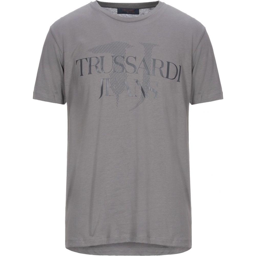 ベストセラー トラサルディ Tシャツ TRUSSARDI JEANS メンズ Tシャツ TRUSSARDI トップス トラサルディ【t-shirt】Grey, フィールズブランド:c7b70ea2 --- kanvasma.com