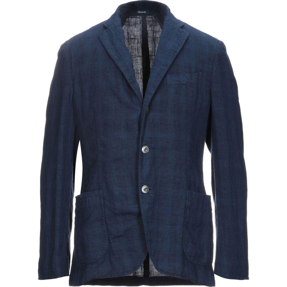 ドルモア DRUMOHR メンズ スーツ・ジャケット アウター【blazer】Dark blue