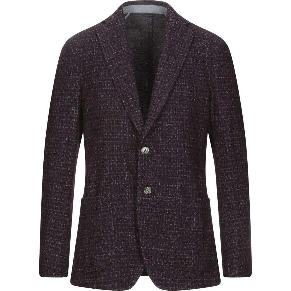トンボリーニ TOMBOLINI メンズ スーツ・ジャケット アウター【blazer】Maroon