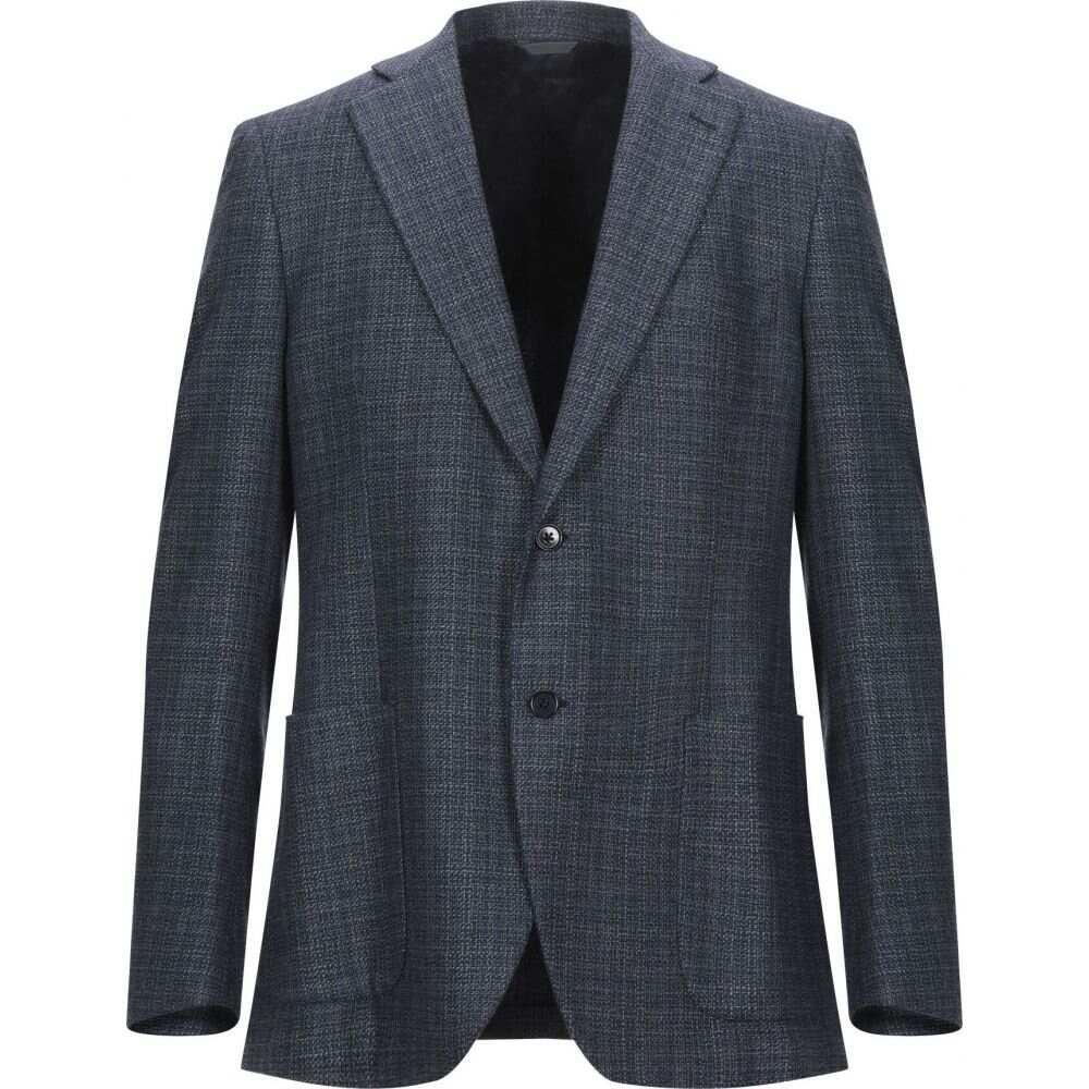 トンボリーニ TOMBOLINI メンズ スーツ・ジャケット アウター【blazer】Dark blue