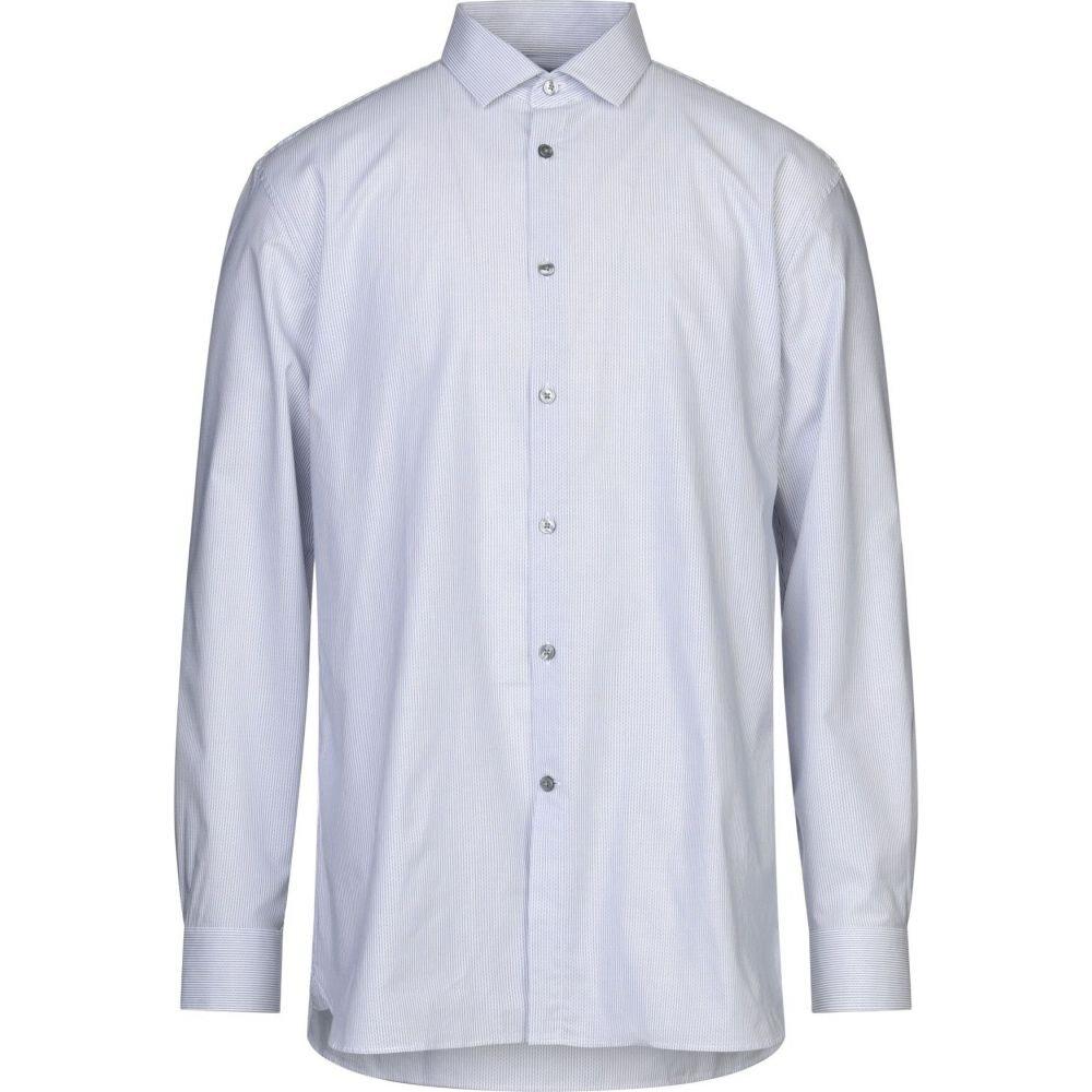 ジョン バルベイトス JOHN VARVATOS U.S.A. メンズ シャツ トップス【patterned shirt】White