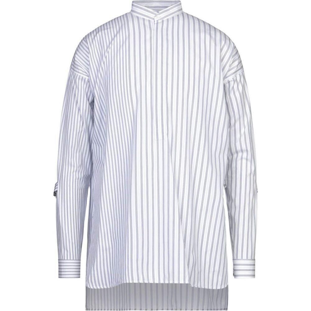 ジル サンダー JIL SANDER メンズ シャツ トップス【striped shirt】White