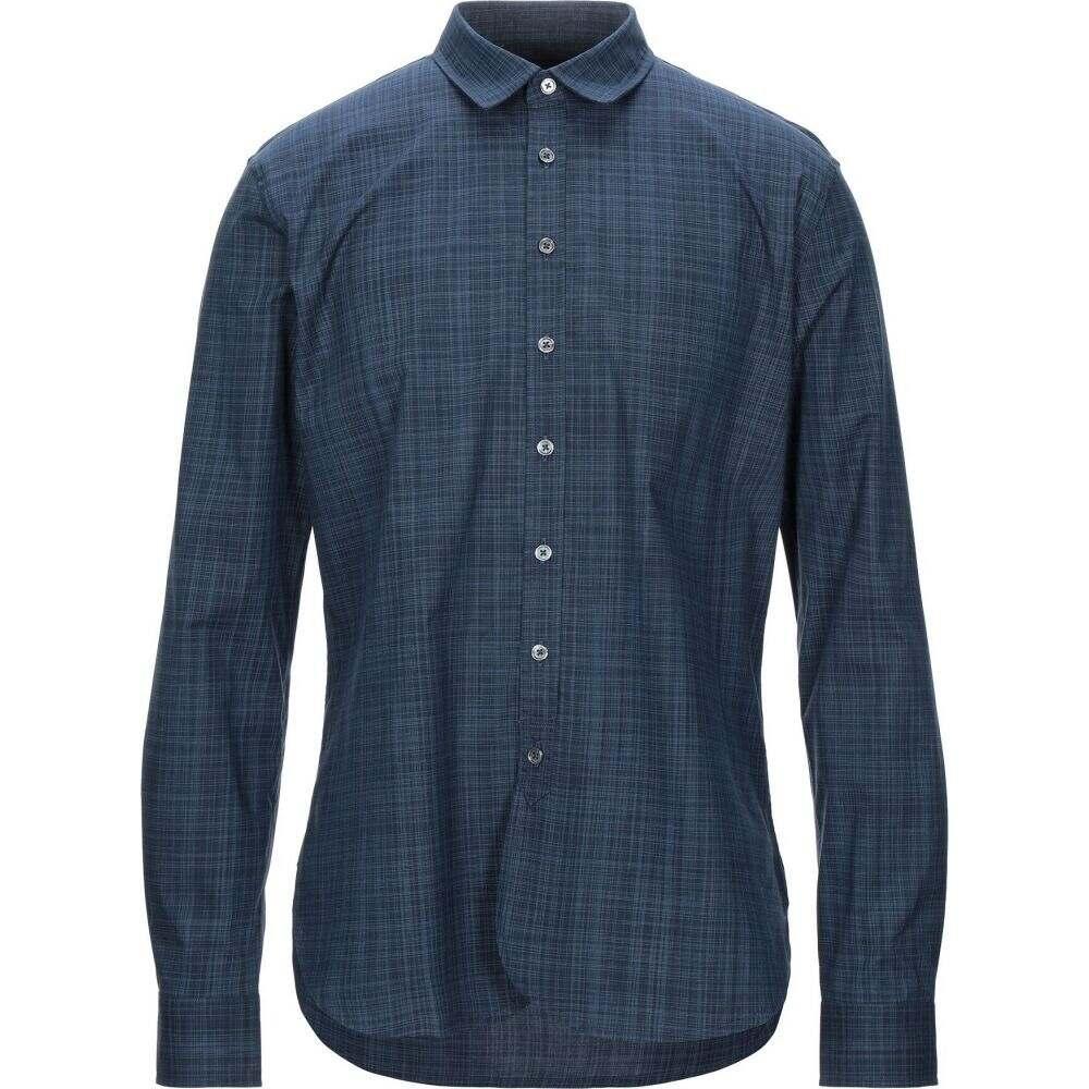 ジョン バルベイトス JOHN VARVATOS メンズ シャツ トップス【checked shirt】Deep jade