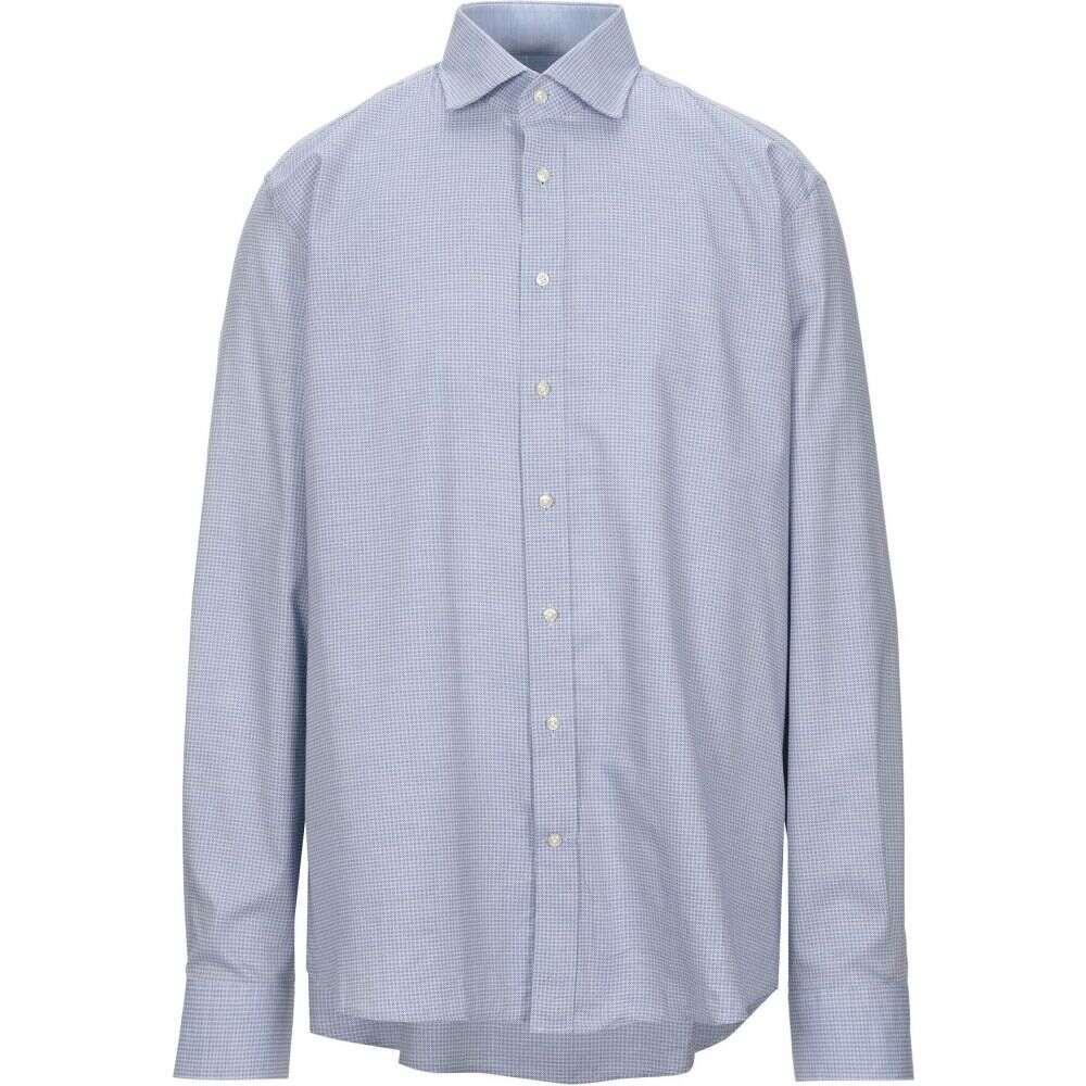 ハケット HACKETT メンズ シャツ トップス【patterned shirt】Sky blue