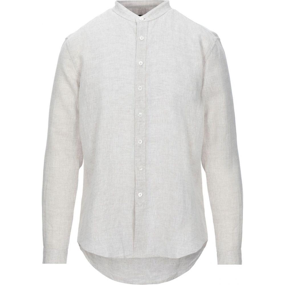 ジョン バルベイトス JOHN VARVATOS メンズ シャツ トップス【linen shirt】Beige