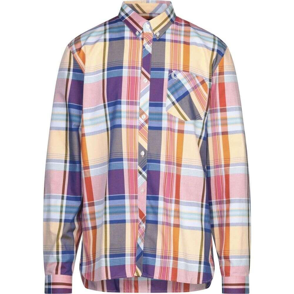 フレッドペリー FRED PERRY メンズ シャツ トップス【checked shirt】Apricot