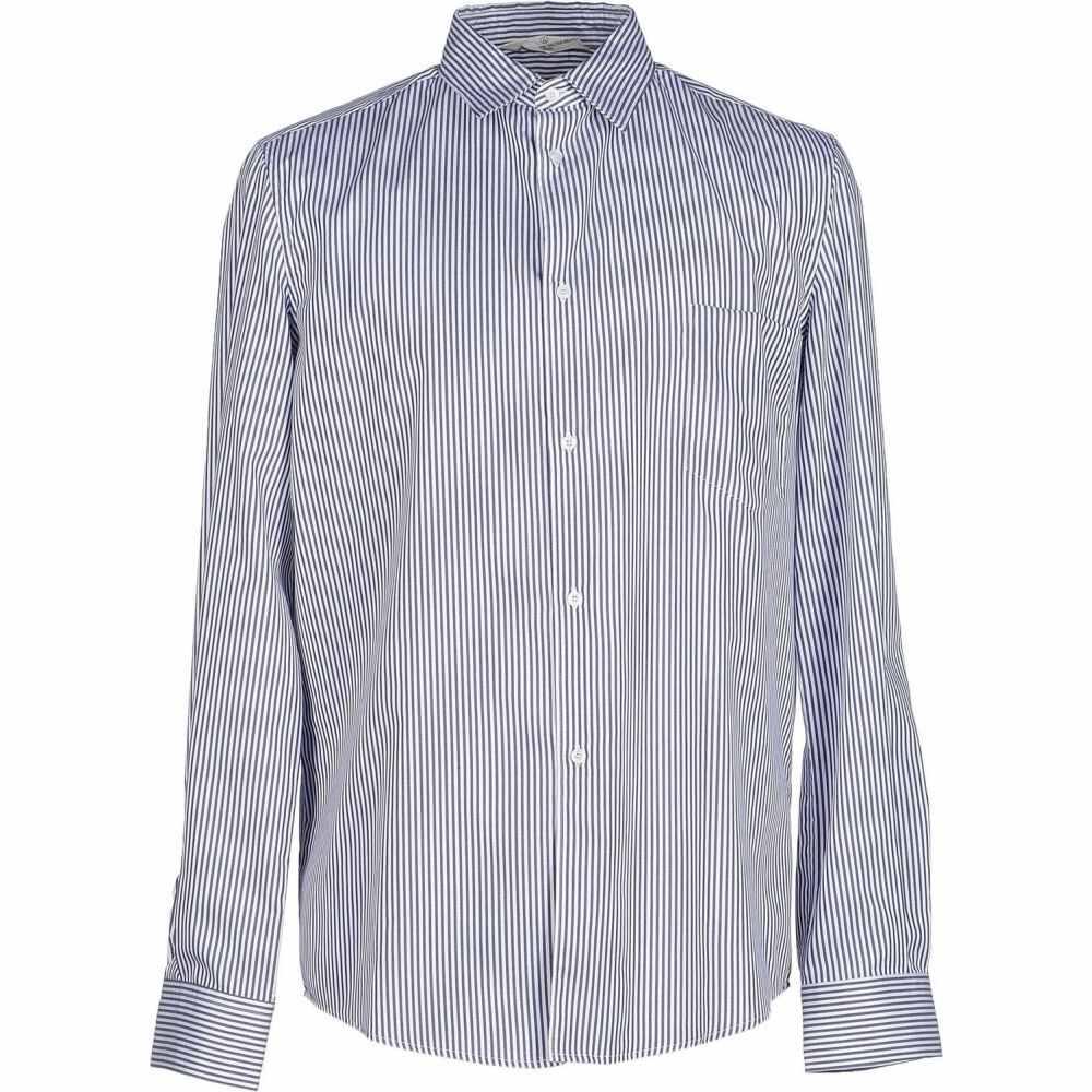 ゴールデン グース GOLDEN GOOSE DELUXE BRAND メンズ シャツ トップス【striped shirt】Dark blue
