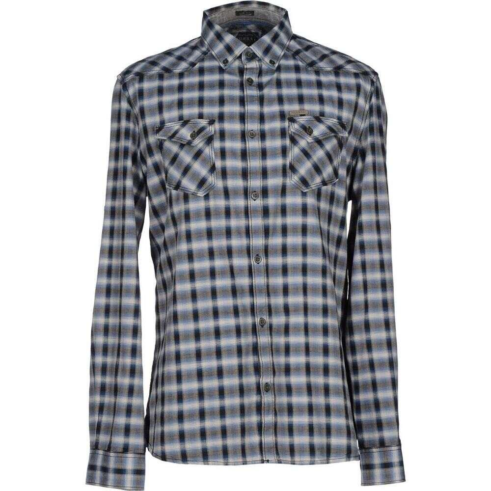 ゲス GUESS メンズ シャツ トップス【checked shirt】Purple