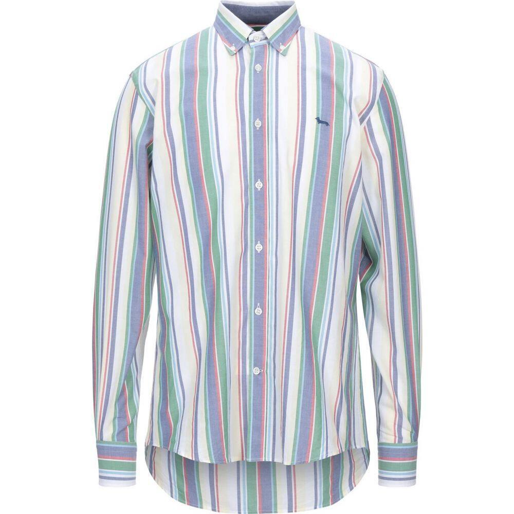 ハーモント アンド ブレイン HARMONT&BLAINE メンズ シャツ トップス【striped shirt】Light yellow