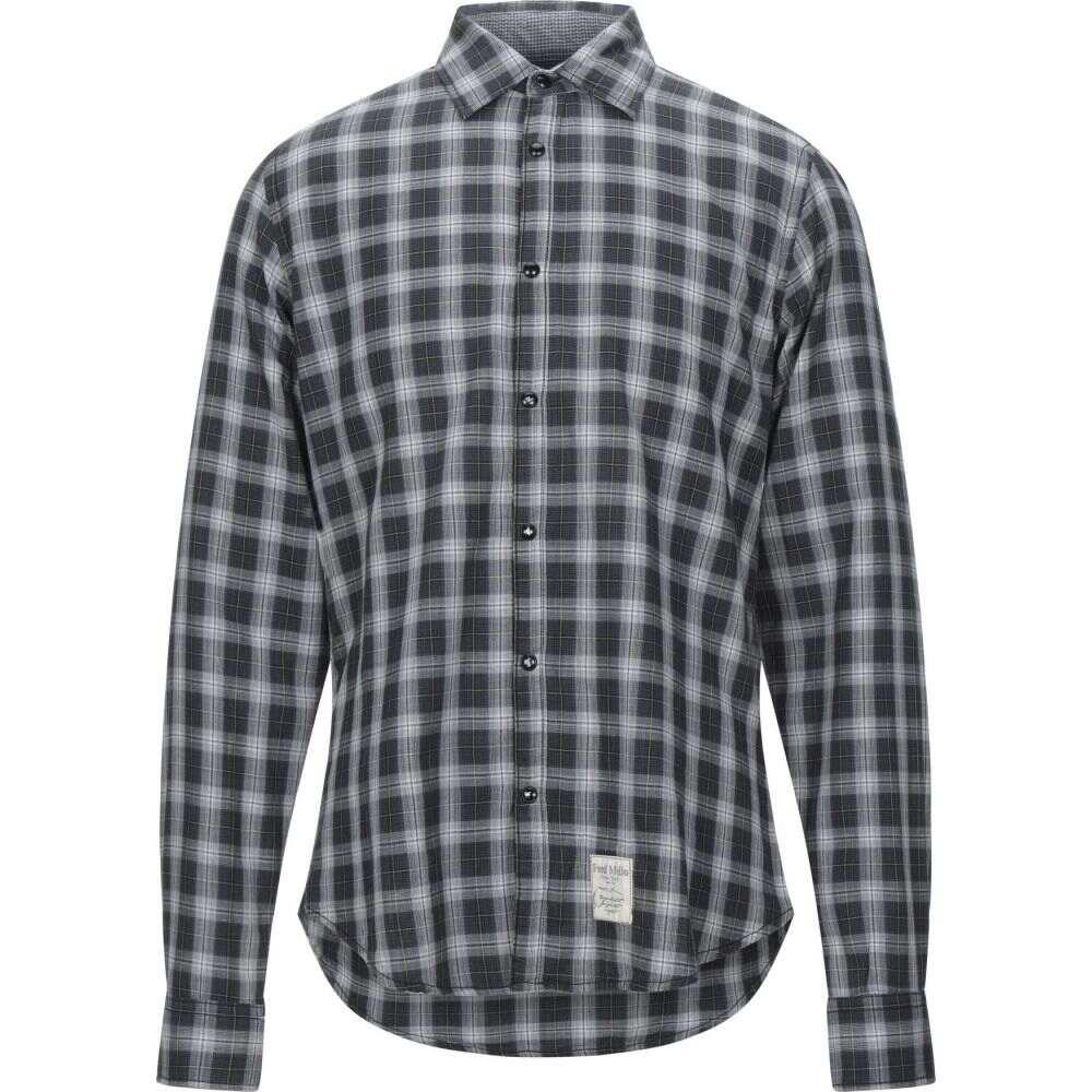 フレッド メロー FRED MELLO メンズ シャツ トップス【checked shirt】Lead