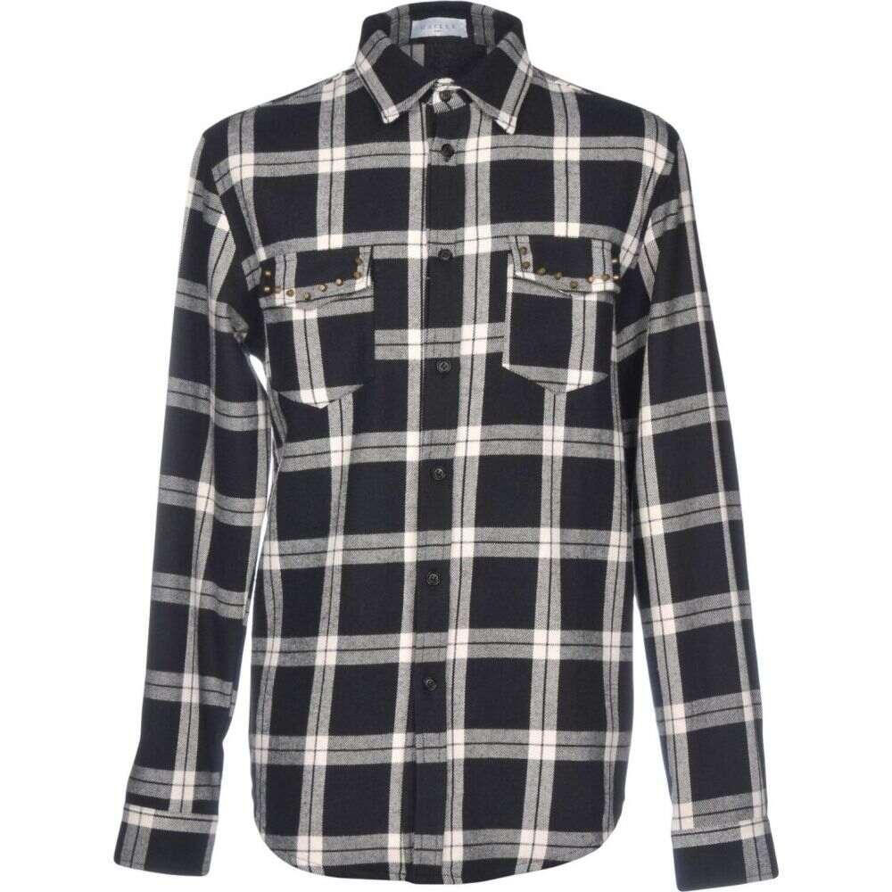 ガエル パリ GAeLLE Paris メンズ シャツ トップス【checked shirt】Black