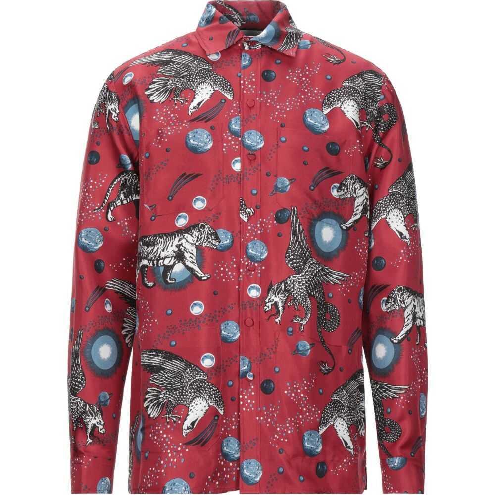 グッチ GUCCI メンズ シャツ トップス【patterned shirt】Brick red