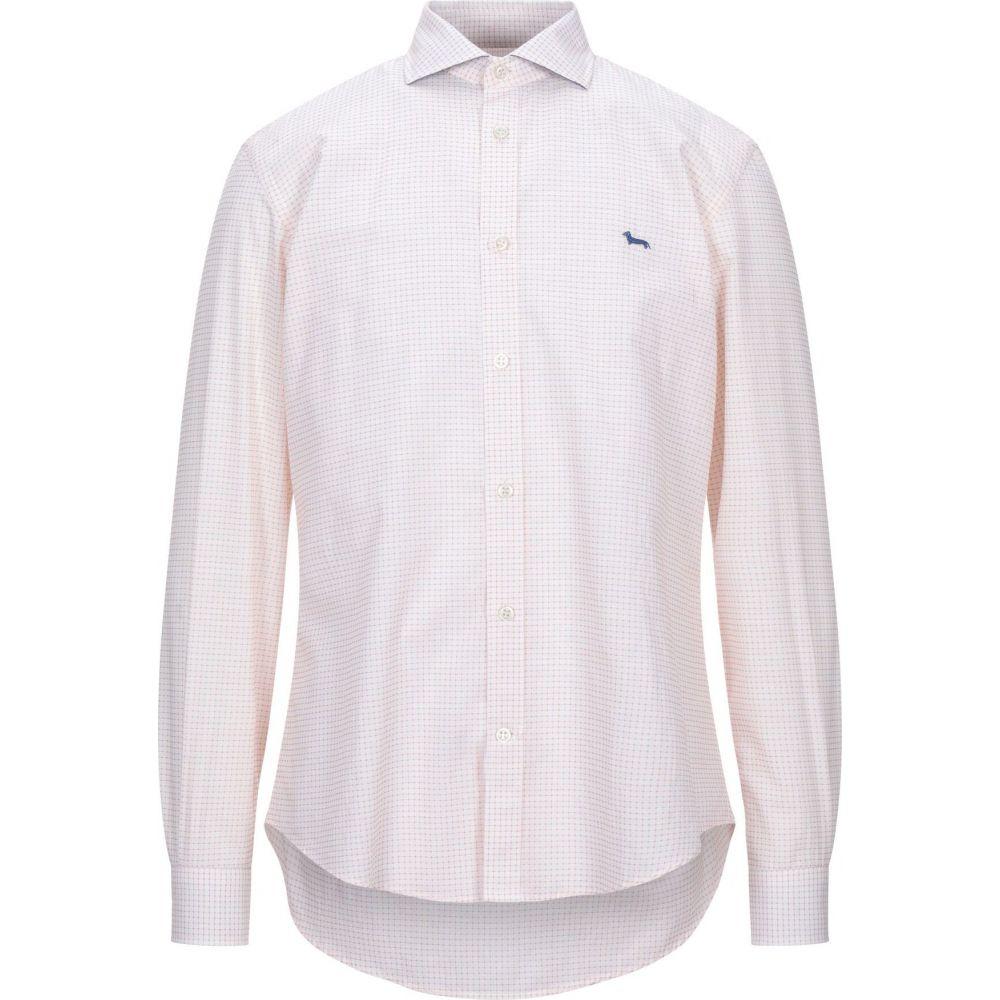ハーモント アンド ブレイン HARMONT&BLAINE メンズ シャツ トップス【checked shirt】Orange