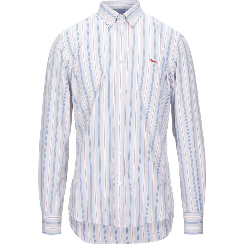 ハーモント アンド ブレイン HARMONT&BLAINE メンズ シャツ トップス【striped shirt】Light grey