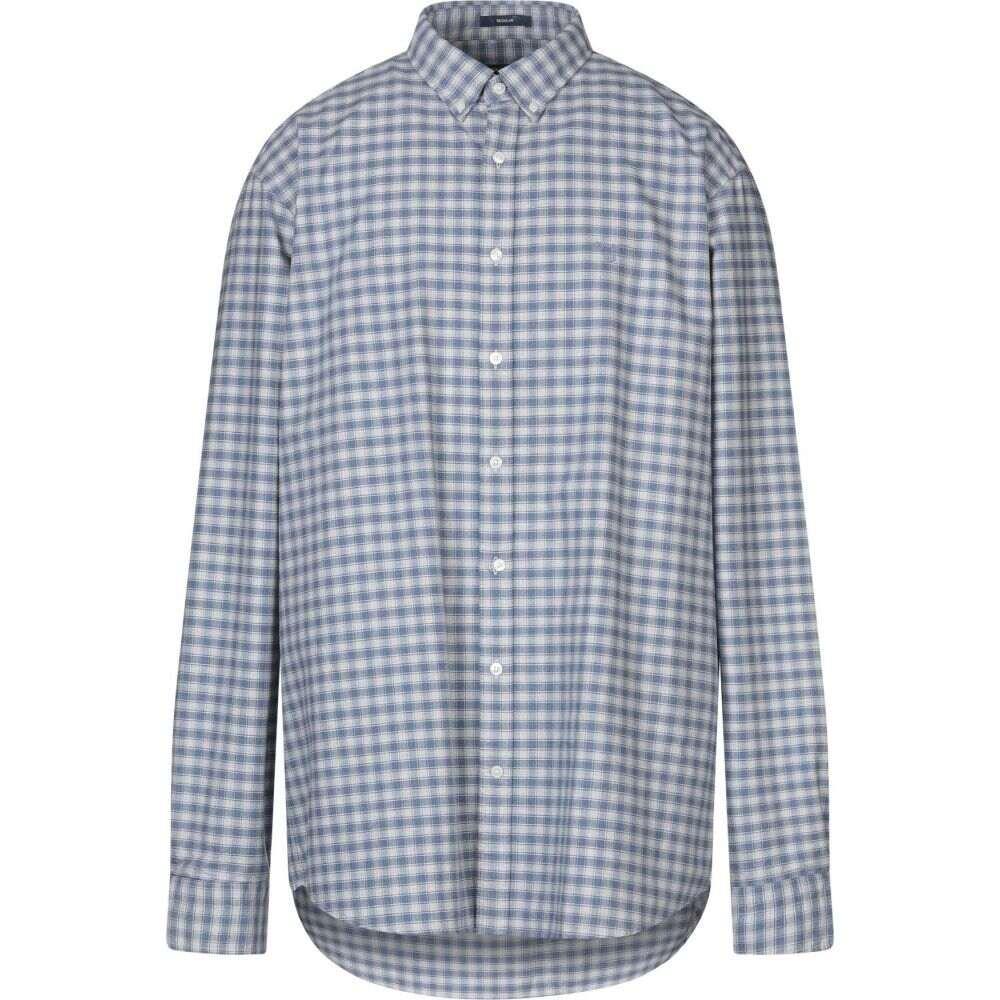 ガント GANT メンズ シャツ トップス【checked shirt】Sky blue