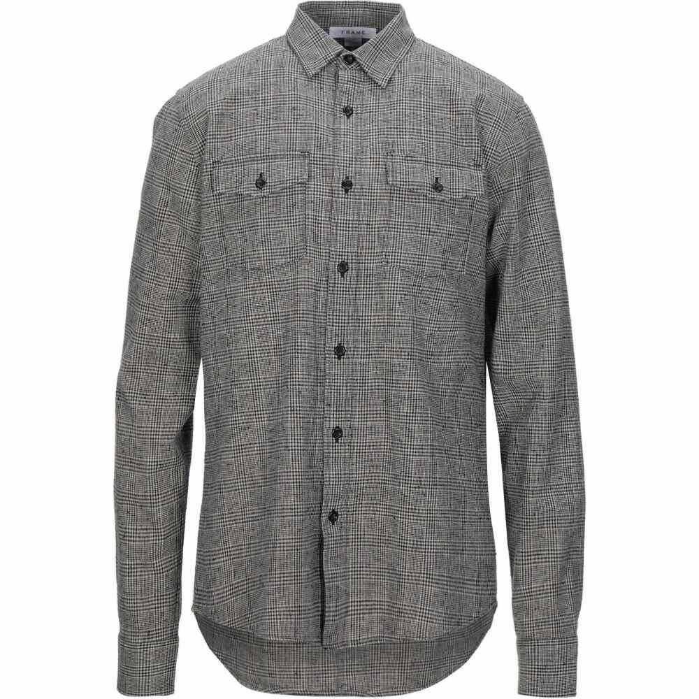 フレーム FRAME メンズ シャツ トップス【checked shirt】Grey