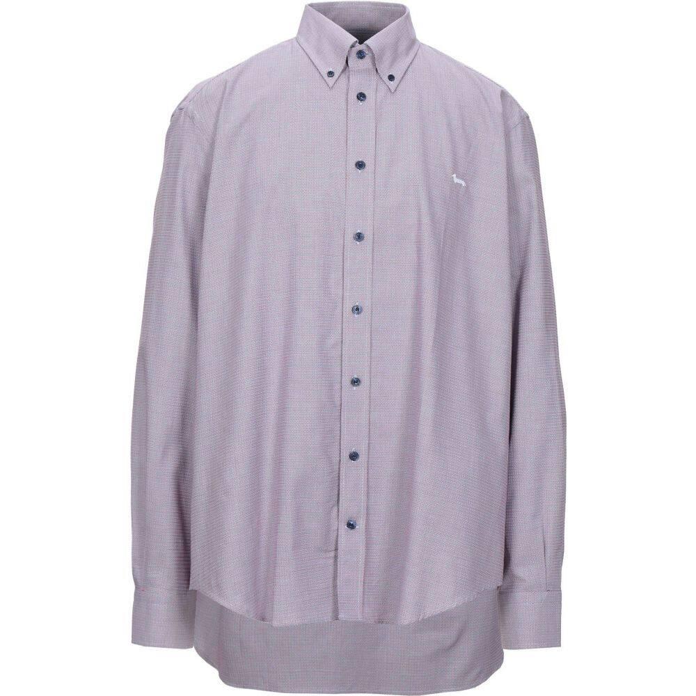 ハーモント アンド ブレイン HARMONT&BLAINE メンズ シャツ トップス【checked shirt】Red