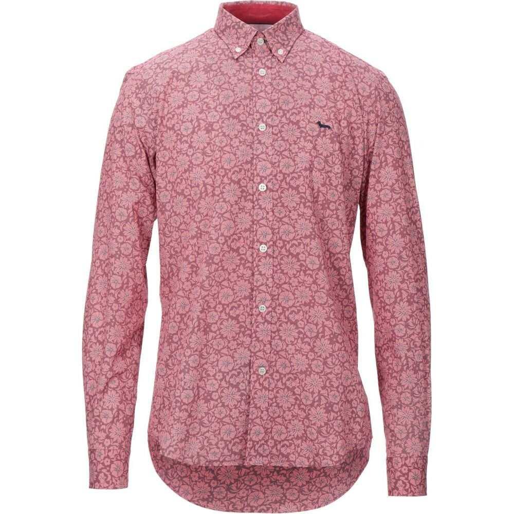 ハーモント アンド ブレイン HARMONT&BLAINE メンズ シャツ トップス【patterned shirt】Red