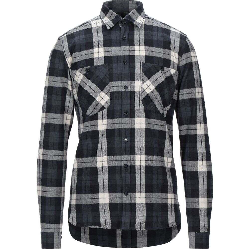 ガッザリーニ GAZZARRINI メンズ シャツ トップス【checked shirt】Black