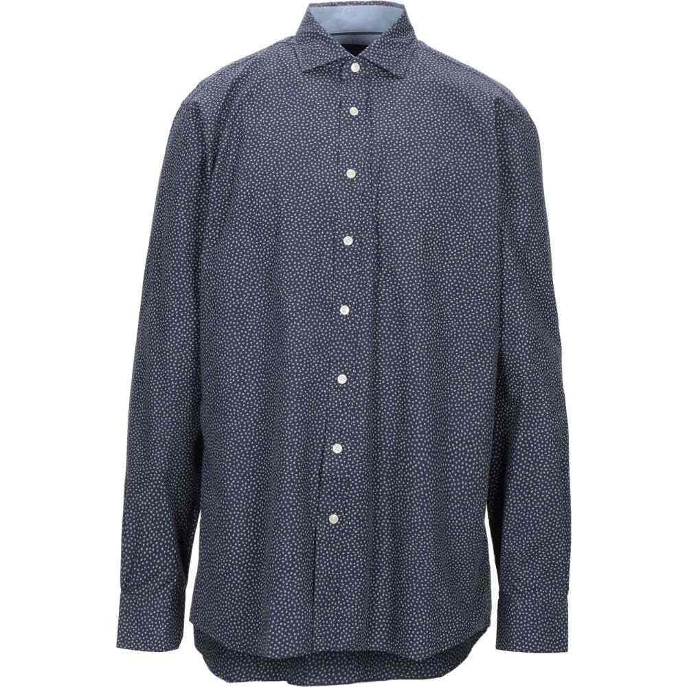 ハケット HACKETT メンズ シャツ トップス【patterned shirt】Dark blue