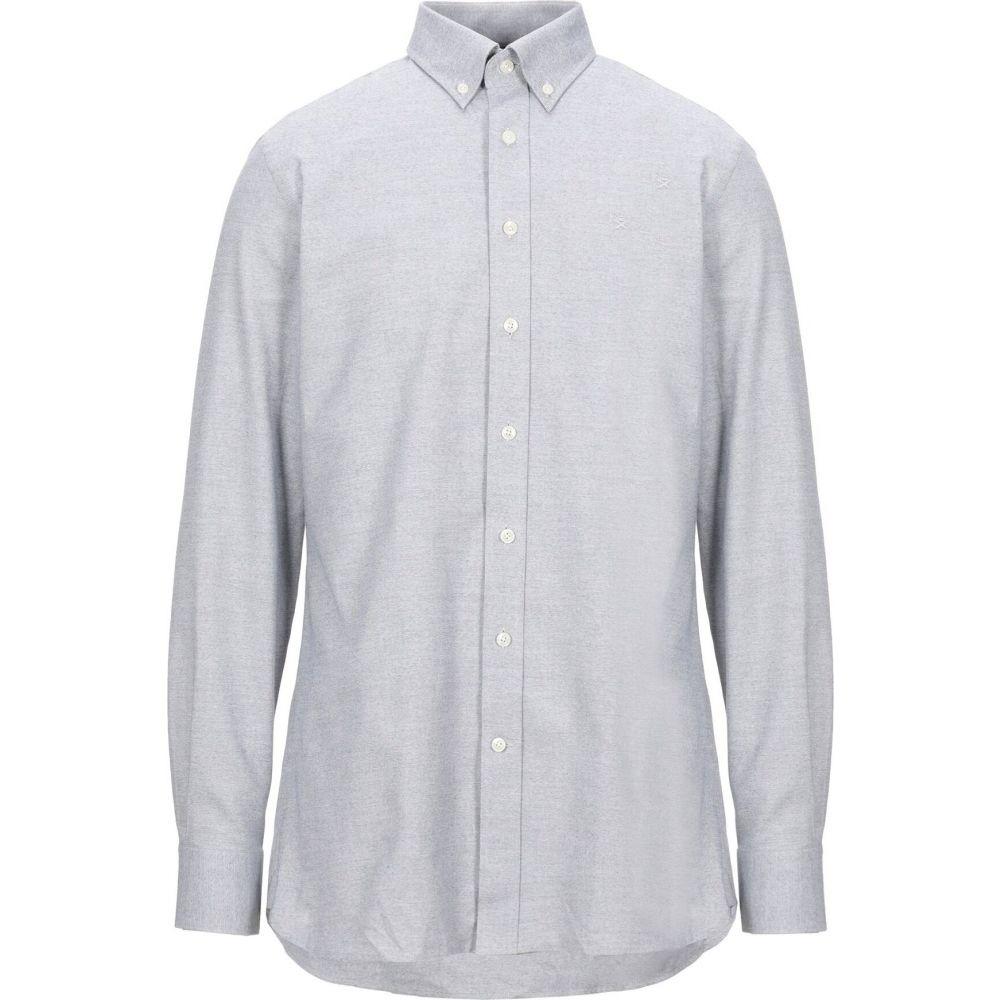 ハケット HACKETT メンズ シャツ トップス【patterned shirt】Grey
