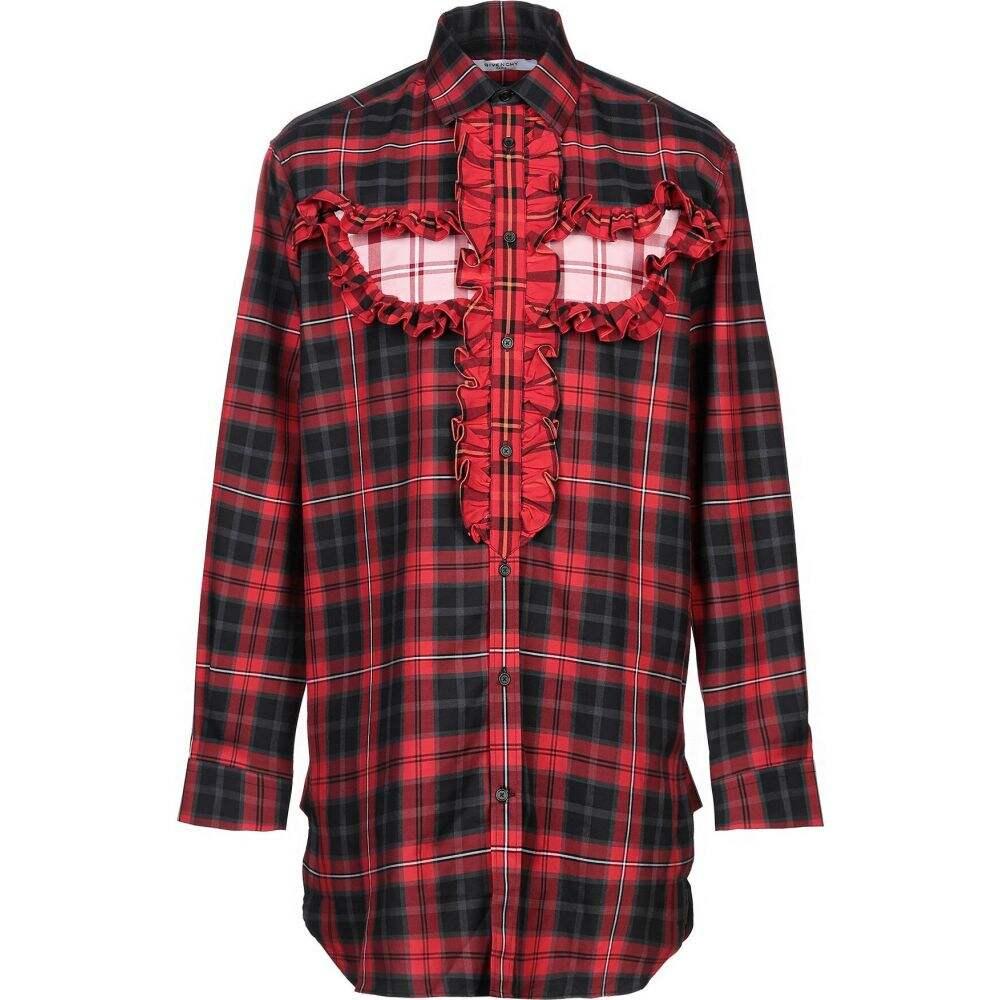 ジバンシー GIVENCHY メンズ シャツ トップス【checked shirt】Red