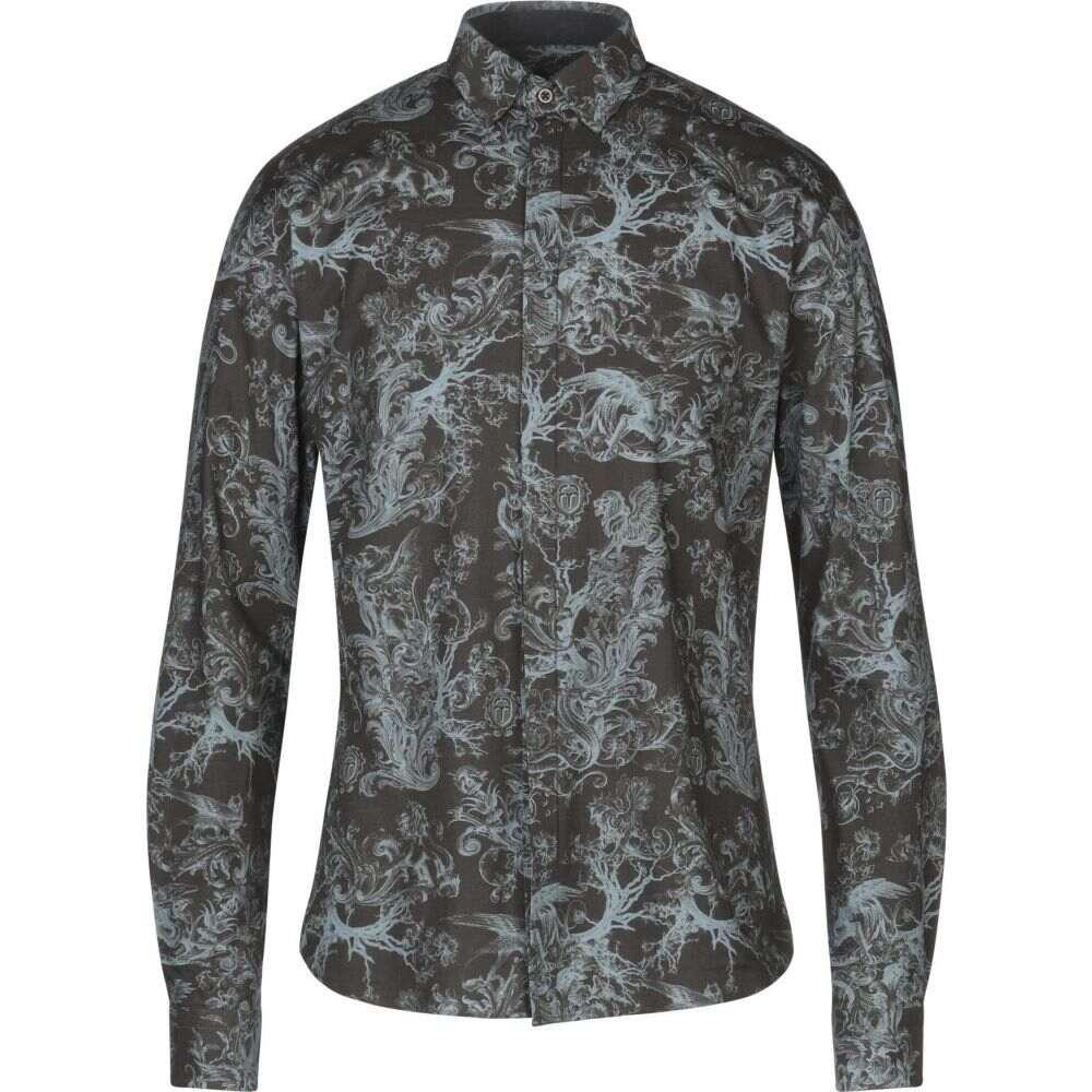 フランキーモレロ FRANKIE MORELLO メンズ シャツ トップス【patterned shirt】Lead