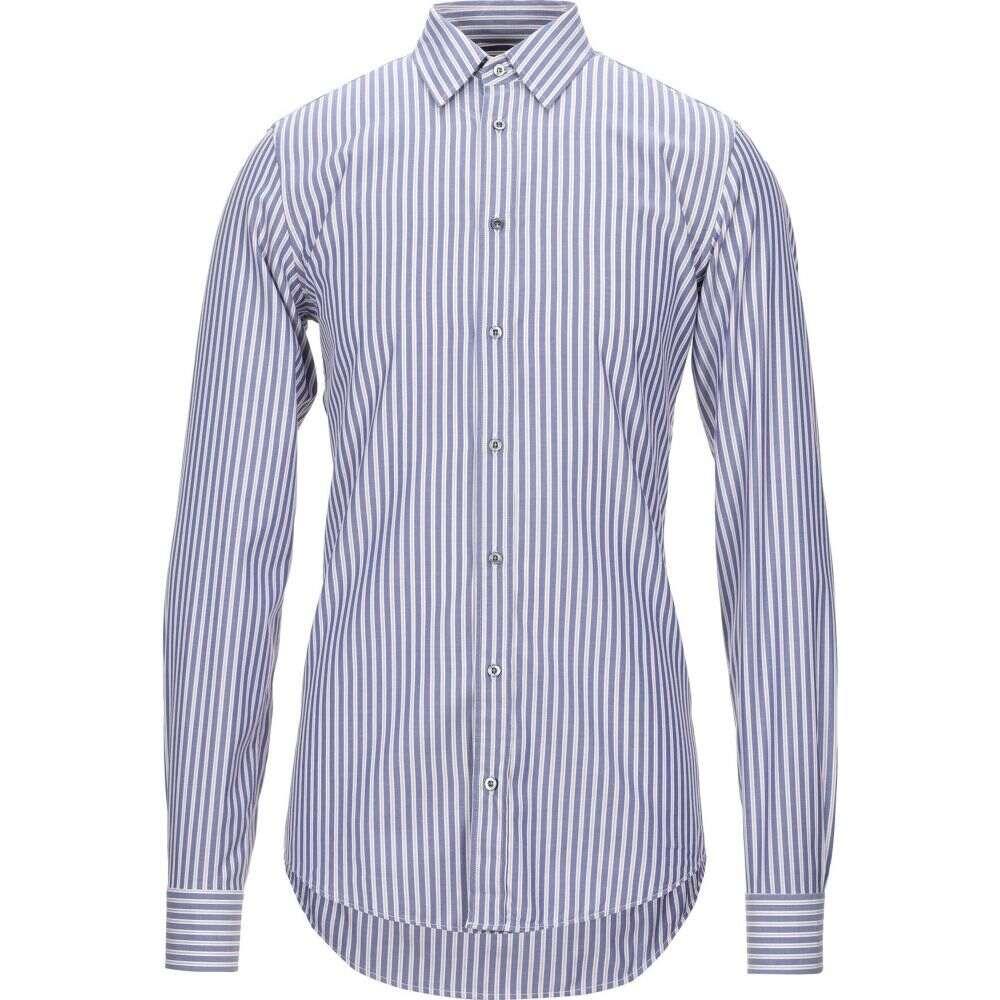 グッチ GUCCI メンズ シャツ トップス【striped shirt】Blue