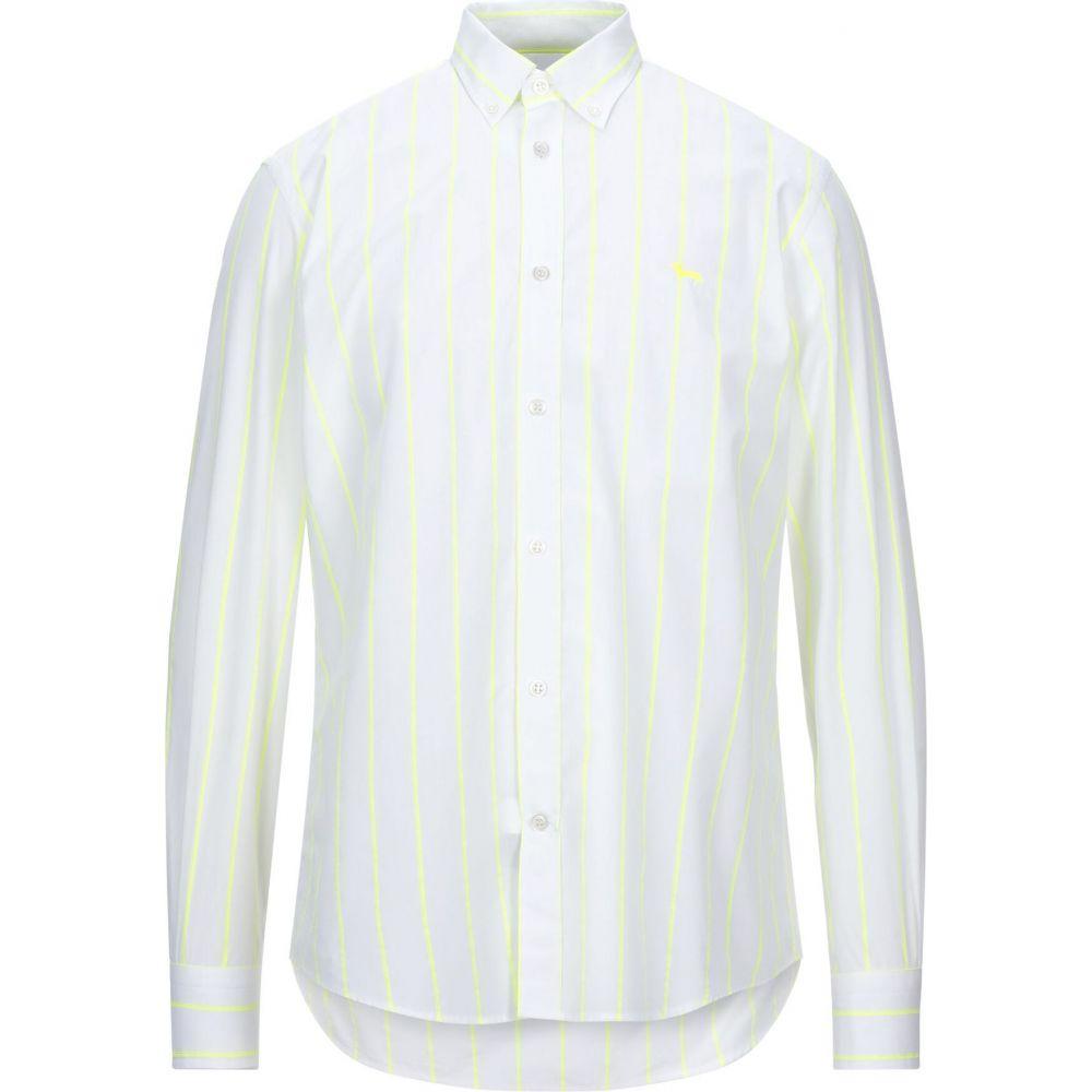 ハーモント アンド ブレイン HARMONT&BLAINE メンズ シャツ トップス【striped shirt】White