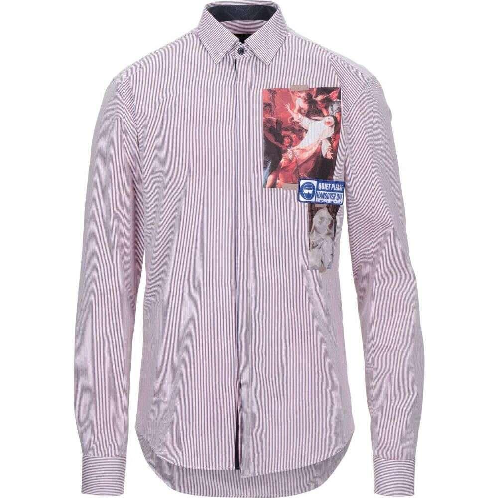 フランキーモレロ FRANKIE MORELLO メンズ シャツ トップス【striped shirt】White
