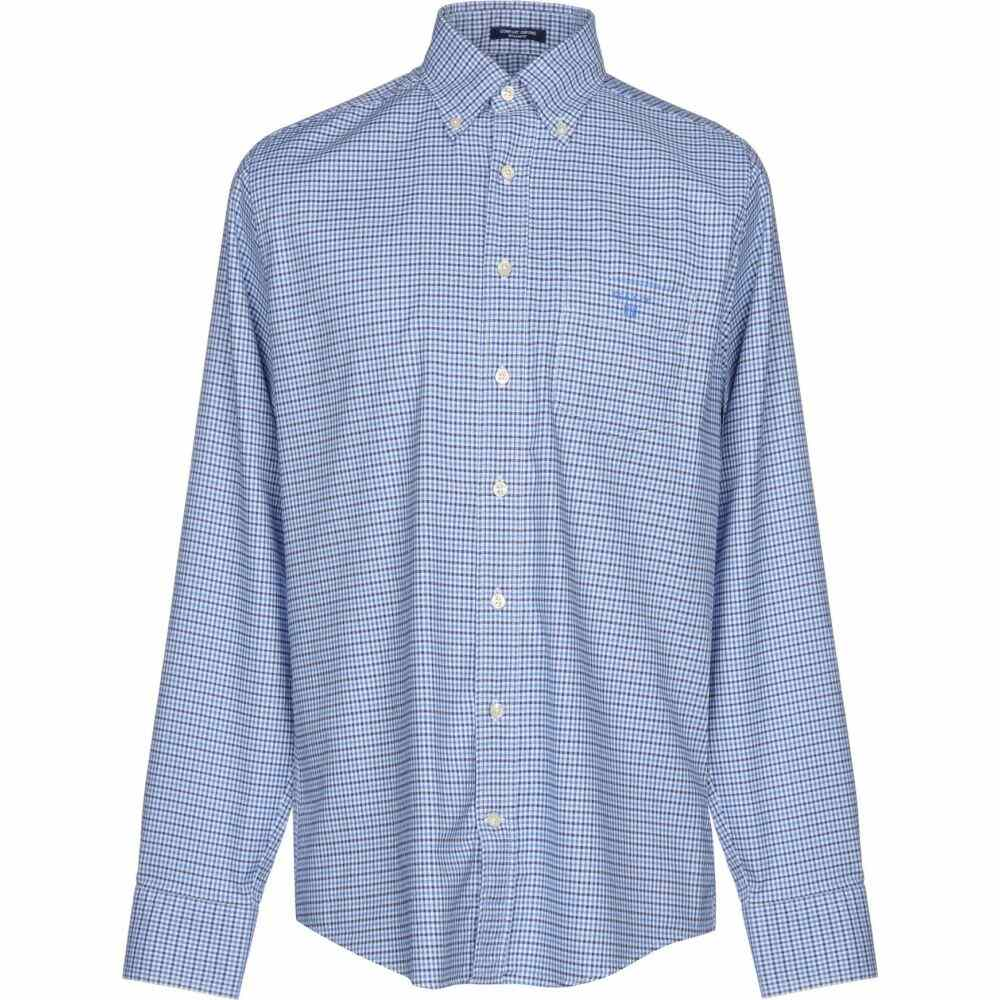 ガント GANT メンズ シャツ トップス【checked shirt】Blue