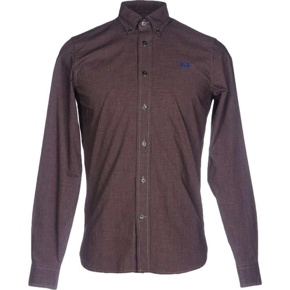 フレッドペリー FRED PERRY メンズ シャツ トップス【checked shirt】Deep purple