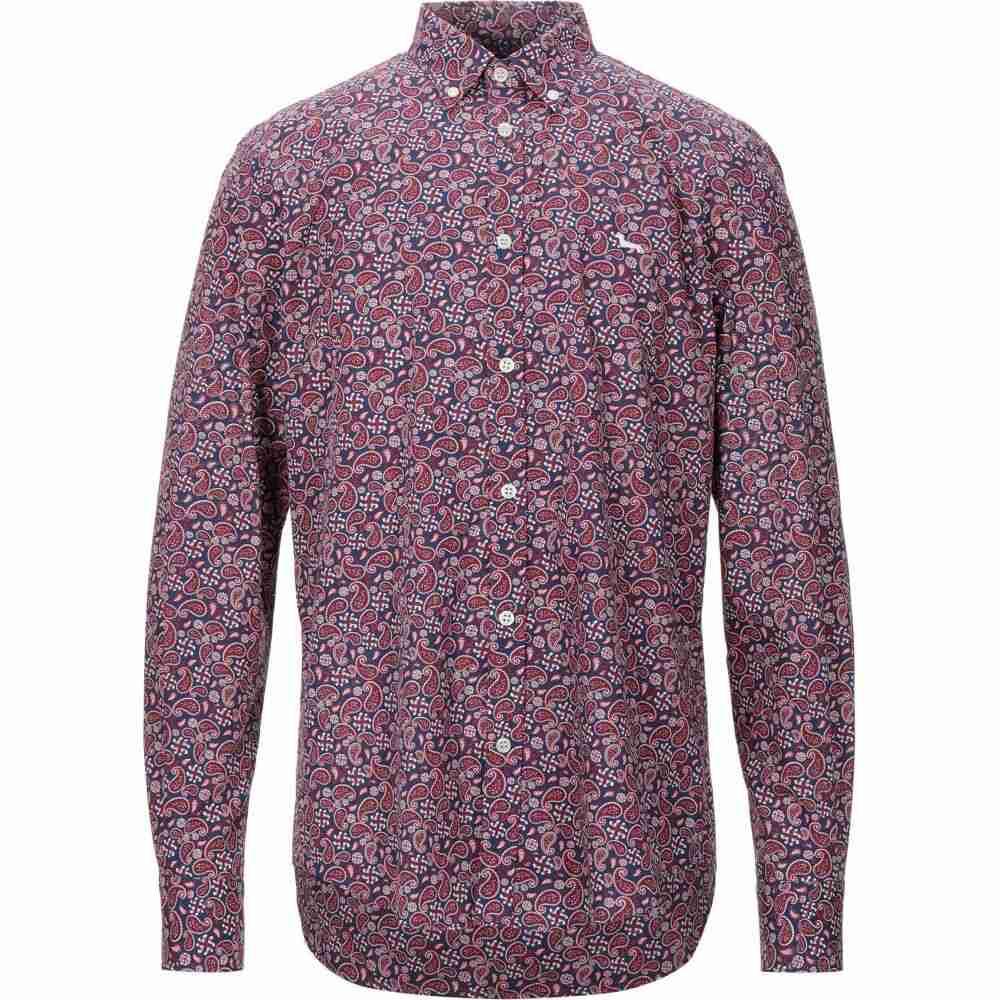 ハーモント アンド ブレイン HARMONT&BLAINE メンズ シャツ トップス【patterned shirt】Dark blue