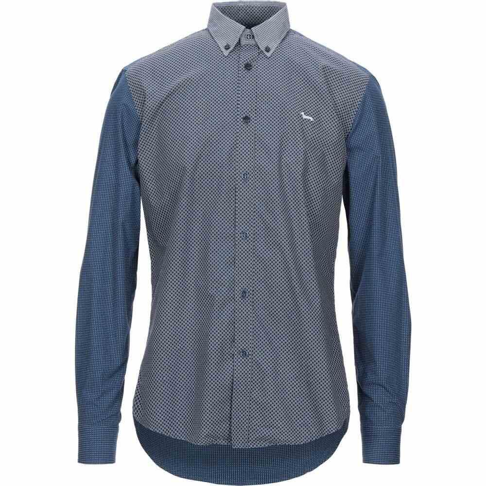 ハーモント アンド ブレイン HARMONT&BLAINE メンズ シャツ トップス【checked shirt】Dark blue