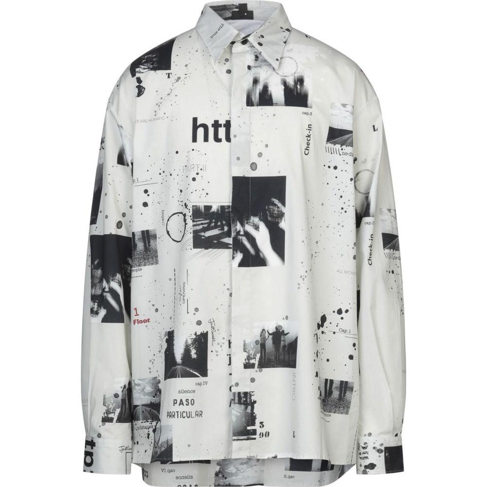 ジャスト カヴァリ JUST CAVALLI メンズ シャツ トップス【patterned shirt】Light grey
