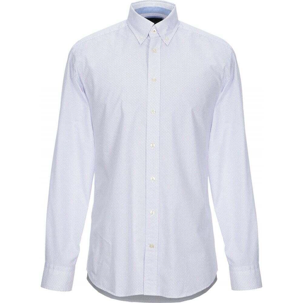 ハケット HACKETT メンズ シャツ トップス【patterned shirt】White