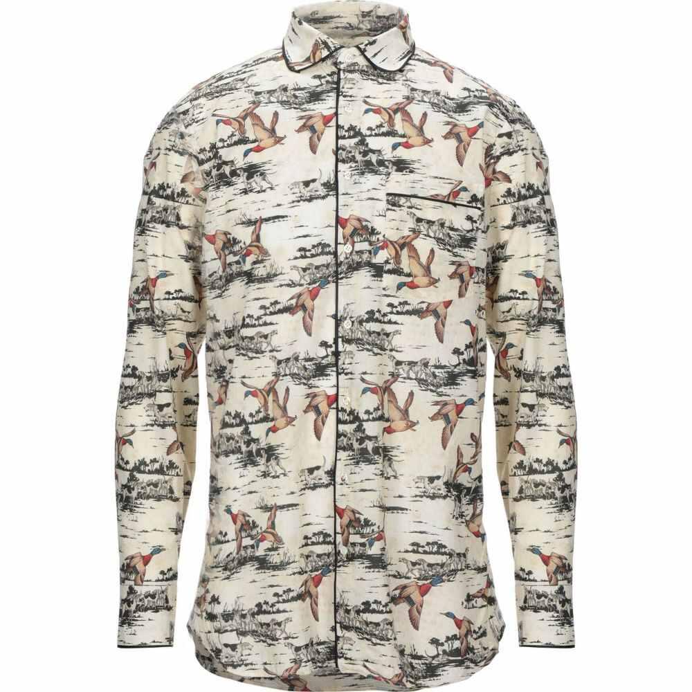 ガブリエレ パジーニ GABRIELE PASINI メンズ シャツ トップス【patterned shirt】Beige