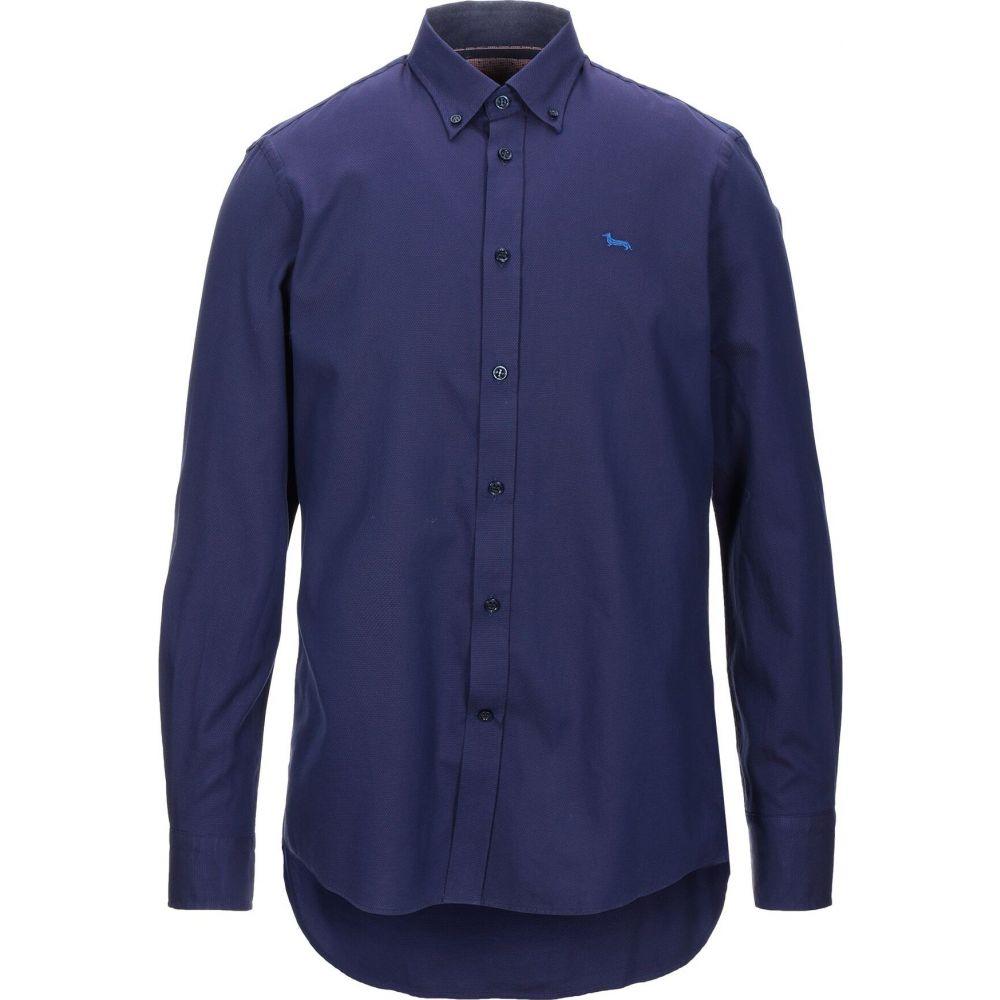 ハーモント アンド ブレイン HARMONT&BLAINE メンズ シャツ トップス【patterned shirt】Dark purple