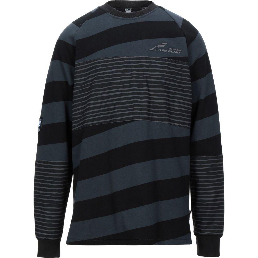 ナパピリ NAPAPIJRI メンズ スウェット・トレーナー トップス【sweatshirt】Black