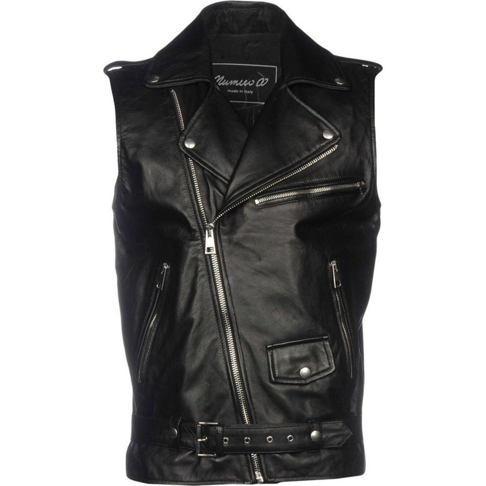 ヌメロ NUMERO 00 メンズ ジャケット ライダース アウター【biker jacket】Black